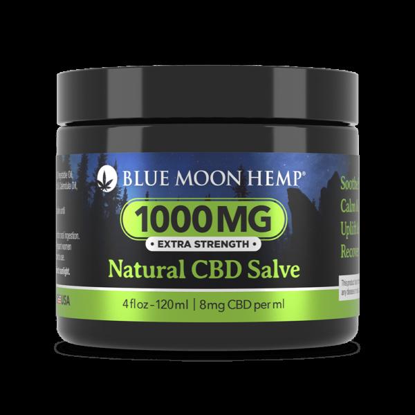 Мазь CBD Salve Natural 1000mg Blue Moon Hemp