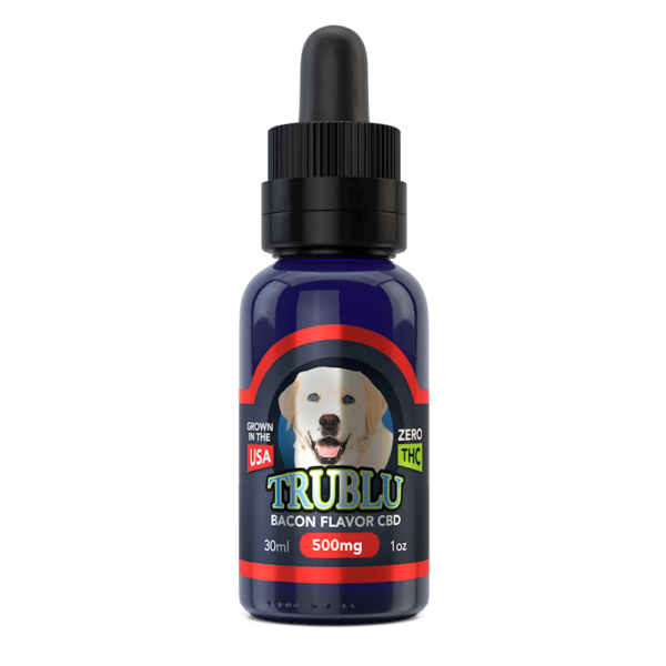 TruBlu Bacon – CBD Dog Tincture 500mg