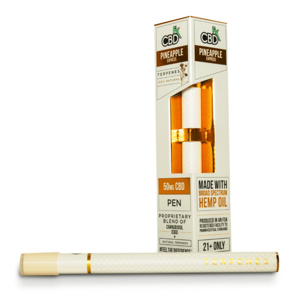 Вейп-ручка Pineapple Express Terpenes Vape Pen 50mg CBD FX