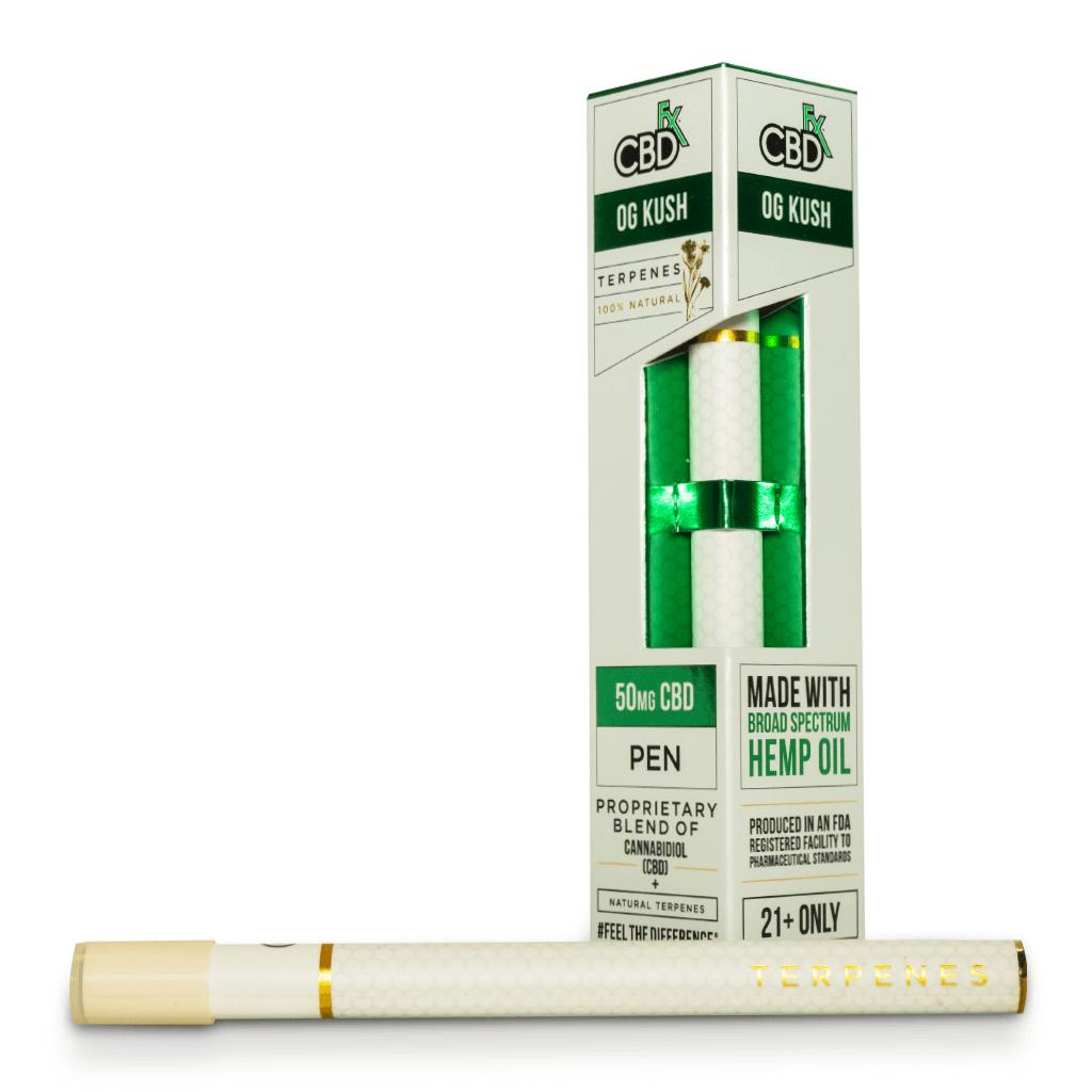 Вейп-ручка OG Kush CBD Terpenes Vape Pen 50mg CBD FX