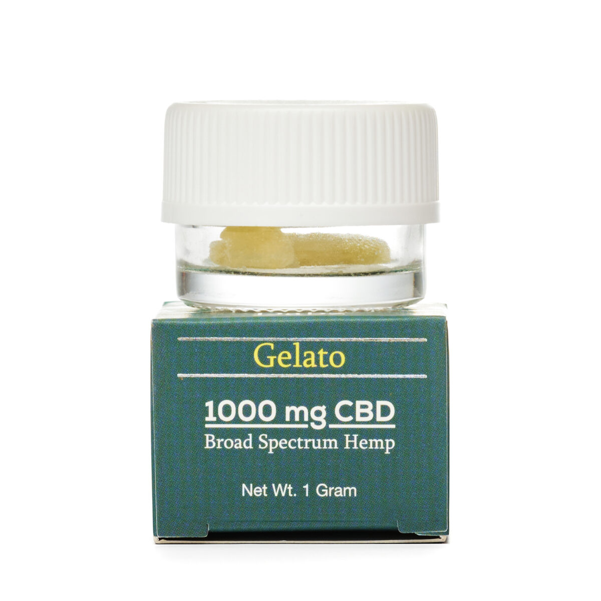 CBD (КБД) Воск 1г., КБД Кристаллы CBD Dabz Shatter Gelato 1000 mg CBD Living, США
