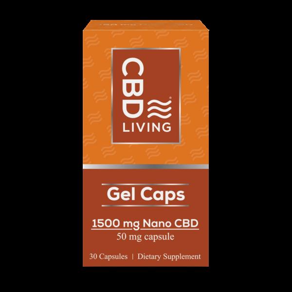 Капсулы CBD Gel Capsules 1500 mg CBD Living