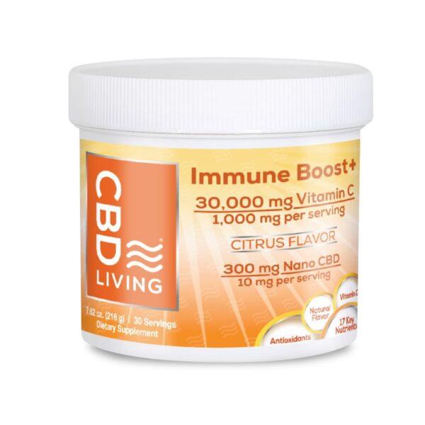 CBD Immune Boost 300 mg CBD Living