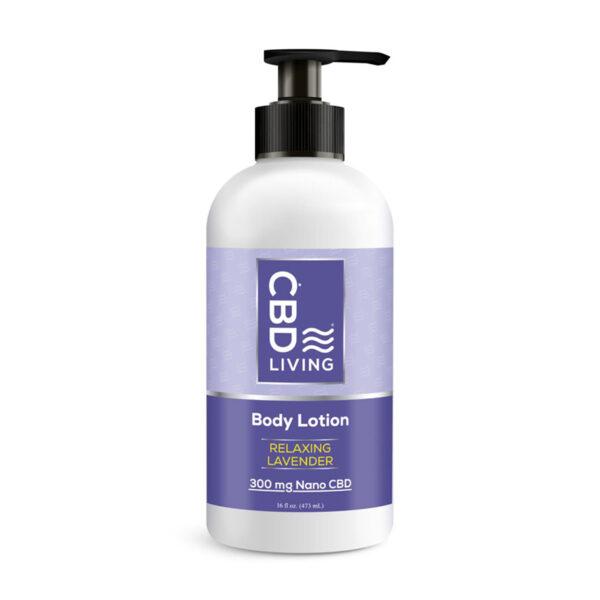 Лосьон CBD Lavender 300 mg CBD Living