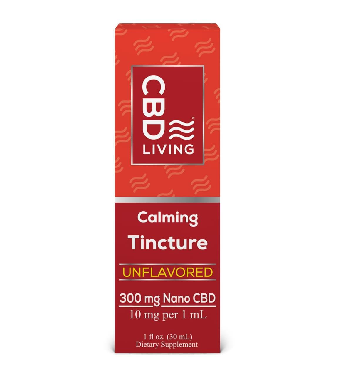 300 мг. Масло КБД (CBD) от Беспокойства, 10мг CBD В 1мл., Tincture – CBD Oil Drops 300 Mg CBD Living, США